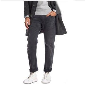 Diesel Larkee Straight Leg Jeans Grey 33x31